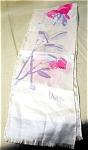 Vera Soft Watercolor Silk Neck Scarf