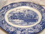 Liberty Blue China Platter