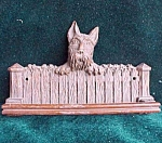 Scottish Terrier Scottie Dog Towel Holder