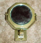 Tiny Art Deco Design Wall Mirror