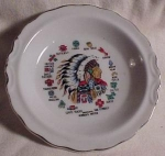 Made In Japan, Native American Sign Bowl