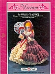 Miriam - Southern Belle Crocheted Doll Pattern Leaflet