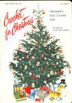 Star Christmas Book No. 83 Crochet For Christmas 1952