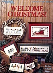 Welcome Christmas Counted Cross Stitch Leaflet