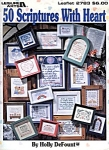 50 Scriptures With Heart Counted Cross Stitch Leaflet