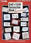 God's Little Instruction Book Counted X Stitch Leaflet