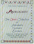 Abecedary 3rd Collection Of Alphabets, Numbers, Letters