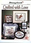 Quilted With Love, Counted Cross Stitch Collection Book