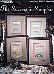 The Seasons In Samplers Counted Cross Stitch Leaflet