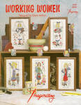 Working Women Counted X Stitch Patterns By D. Arthurs