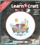Noah's Ark Counted Cross Stitch Learn A Craft Kit