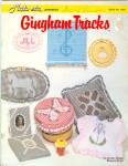 Mats Etc. Gingham Tracks, Cross Stitch On Fabric