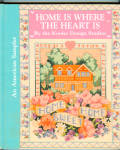 Home Is Where The Heart Is Counted Cross Stitch Book