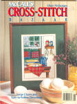 Mccall's Cross Stitch Bazaar Magazine 1989