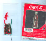 1994 Coca Cola Counted X Stitch Kit