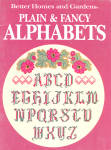 Bhg Plain And Fancy Alphabets For Counted X Stitch