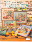 Country Friends Counted Cross Stitch Leaflet