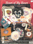 Heart Of My Heart Counted Cross Stitch Book