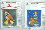 Lot Of 3, Stitch And Hang Christmas Cross Stitch Kits