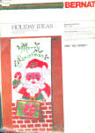 1977 Bernat Christmas Card Holder Cross Stitch Kit