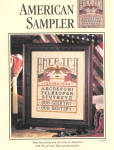 American Sampler Counted Cross Stitch Pattern