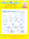Aunt Martha's Hot Iron Transfers - Baby Borders 3