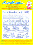 Aunt Martha's Hot Iron Transfers - Baby Borders 4