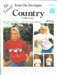 No Sweat Iron On Country Collection Design