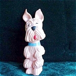 Vintage Scottie Dog Squeaky Toy