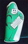 Childs Green Astronaut Space Related Eye Glass Case- 1960