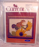 Current Cheery Chipmunk Crewel Embroidery Kit