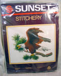 Sunset Stitchery Majestic Eagle Crewel Embroidery Kit