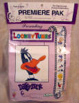 Daffy Duck, Dial A Loop Punch Embroidery Kit