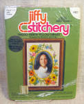 1977 Jiffy Stitchery Crewel Embroidery Kit