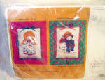 Creative Circle Calico Angel Embroidery Kit