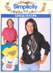 Simplicity Casual Cut Ups Sweater Patterns