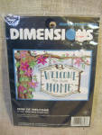 Dimensions Cross Stitch And Embroidery Welcome