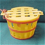 Childs Toy Plastic Candy Container Fuit Basket With Cover