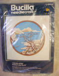 Bucilla Oriental Winter Crewel Embroidery Kit