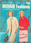 1964 Coats And Clarks Mohair Pattern Book