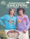 Embroidered Sweaters To Knit Booklet
