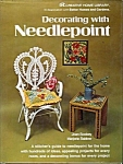 Decorating With Needlepoint Pattern And How To Book