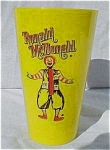 Mcdonald Restaurant Premium Advertising Cup