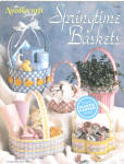 Plastic Canvas Springtime Baskets Design Leaflet