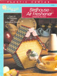Birdhouse Air Freshner Plastic Canvas Pattern