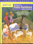 Fashion Doll Patio Furniture In Plastic Canvas