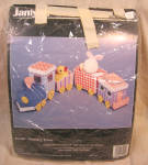 Janlynn Plastic Canvas Nursery Train Kit