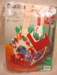 Bucilla Christmas Birdhouse Kit, Plastic Canvas
