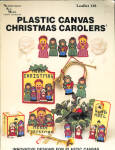 Plastic Canvas Christmas Carolers Leaflet