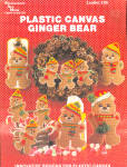 Plastic Canvas Ginger Bear Leaflet